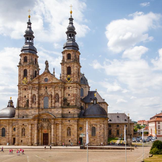 """Fulda Cathedral"" stock image"
