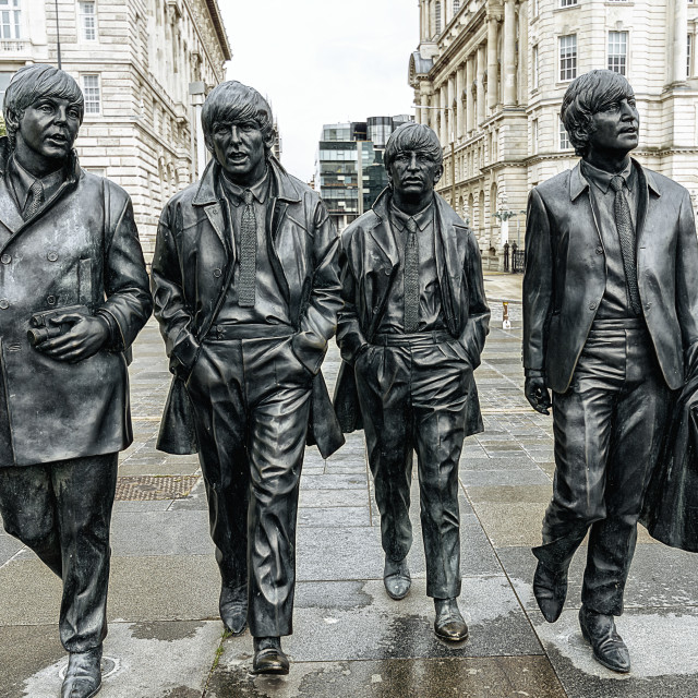 """""""The Beatles"""" stock image"""