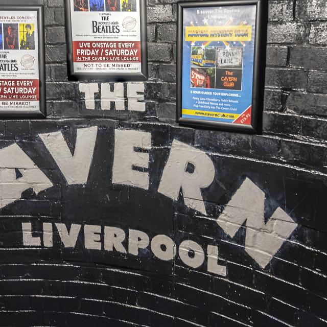 """The cavern Club"" stock image"