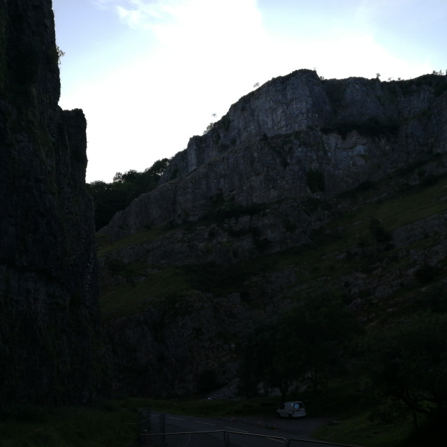 """Cheddar gorge"" stock image"