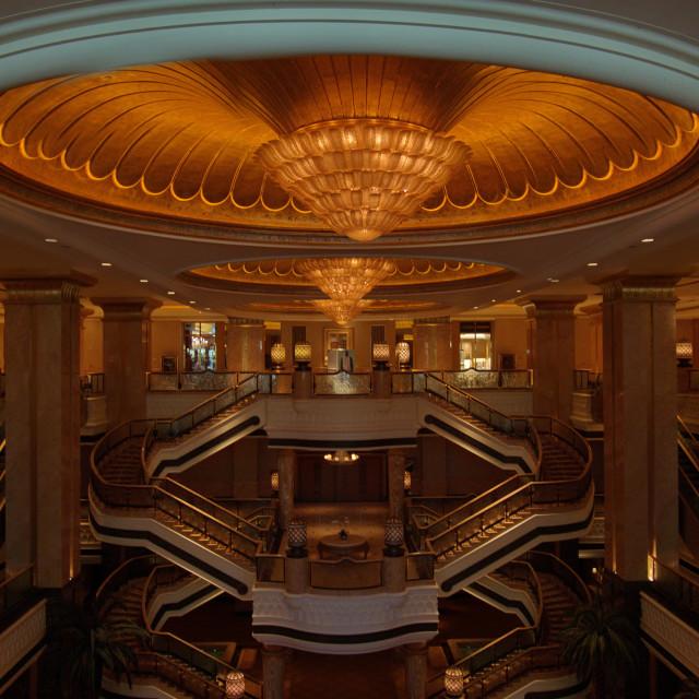 """""""Emirates Palace"""" stock image"""