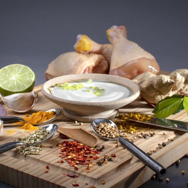 """roasting meats asian styles"" stock image"