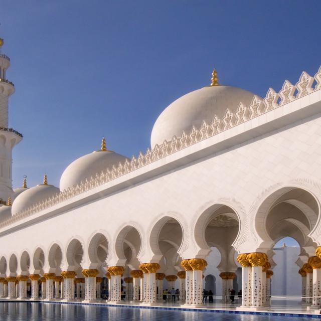 """Sheikh Zayed Mosque"" stock image"