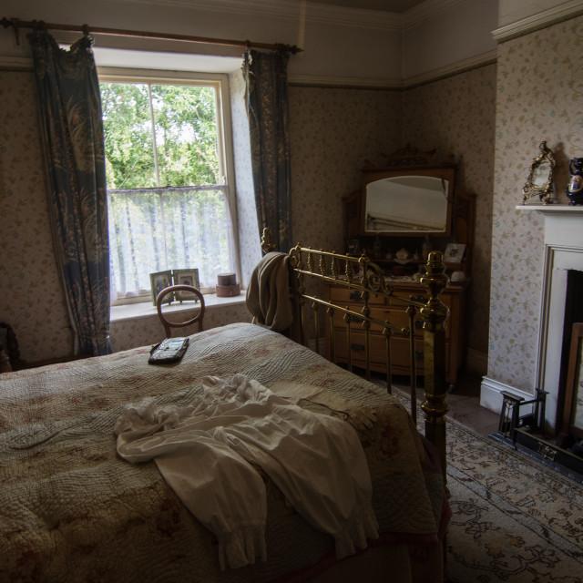 """vintage bedroom"" stock image"