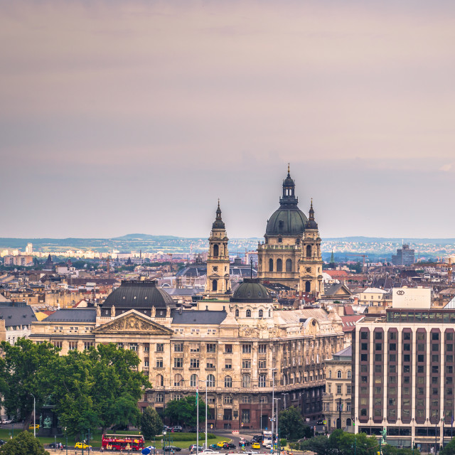"""Budapest - June 22, 2019: Panoramic view of the city of Budapest, Hungary"" stock image"