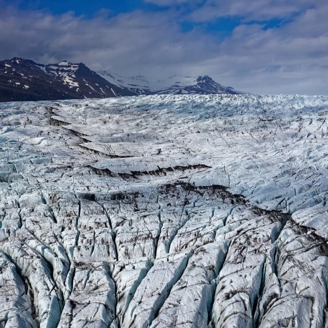 """""""Vatnajökull"""" stock image"""