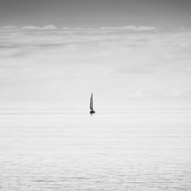 """Sailing Boat"" stock image"