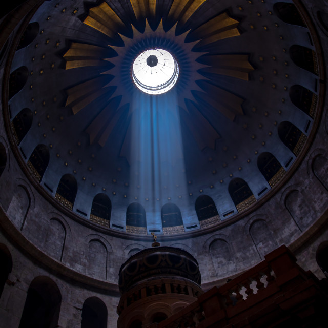"""""""Church of the Holy Sepulchre"""" stock image"""