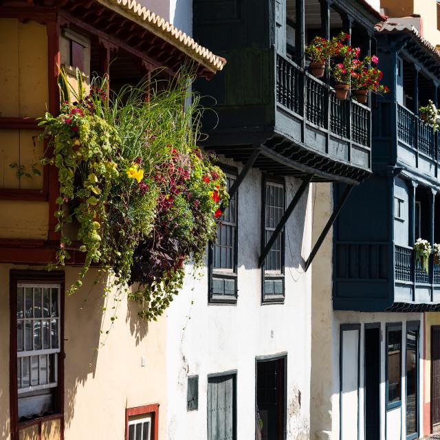 """Canary balconies"" stock image"