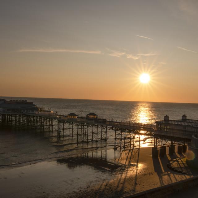 """""""Cromer Sunrise"""" stock image"""
