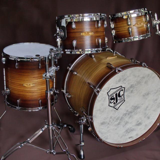 """SJC Custom Drums"" stock image"