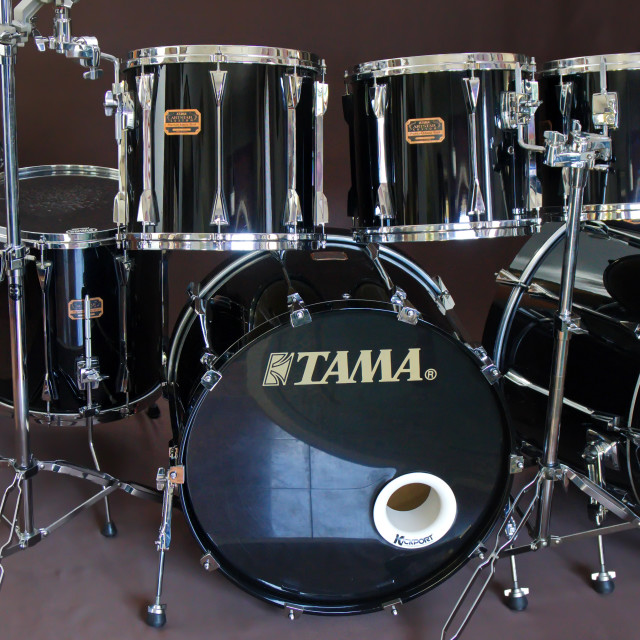 """Tama Artstar Custom shell set."" stock image"
