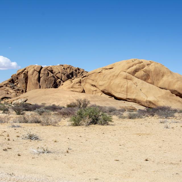 """""""travelling damaraland namibia"""" stock image"""