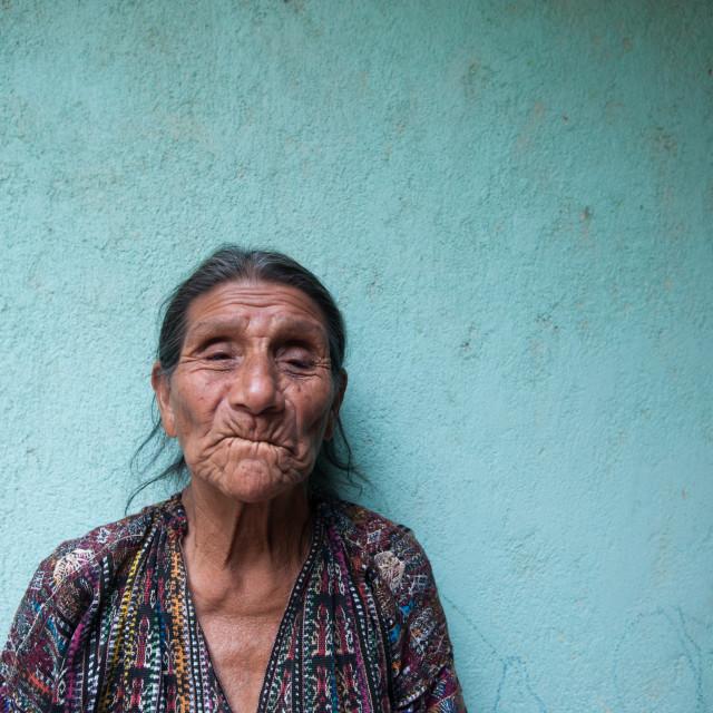 """A maya indigenous woman in Guatemala."" stock image"