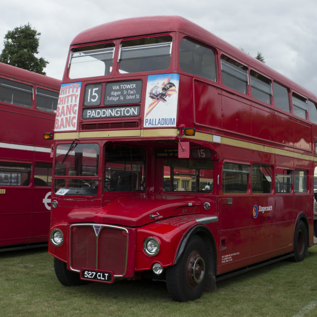 """RM, Routemaster London Bus"" stock image"