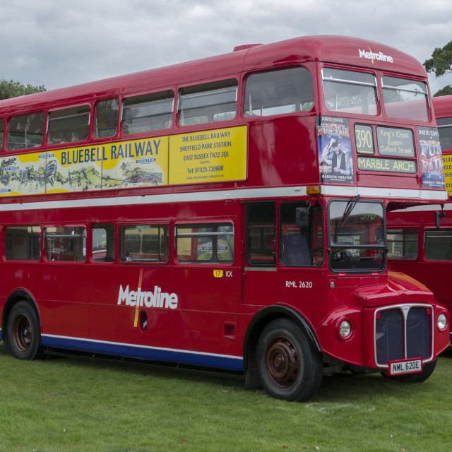 """RML, Routemaster London Bus"" stock image"