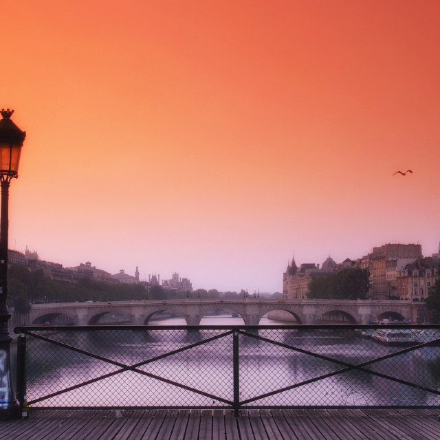 """""""Early morning in Paris"""" stock image"""