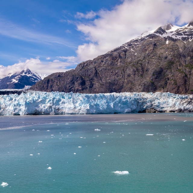 """Margerie Glacier"" stock image"