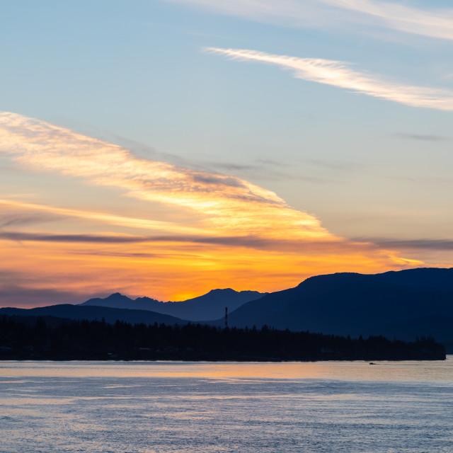 """Vancouver Island"" stock image"