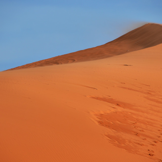 """""""coral pink sand dunes"""" stock image"""