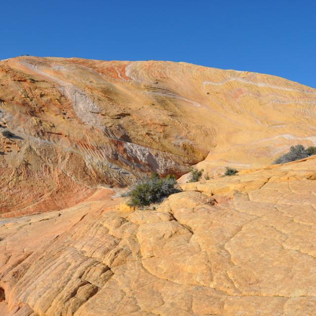 """yellow rock mountain"" stock image"