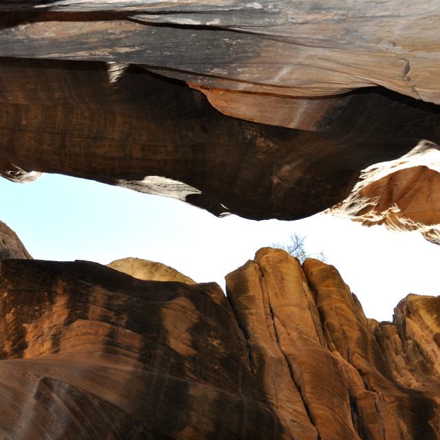 """willis creek slot canyon"" stock image"