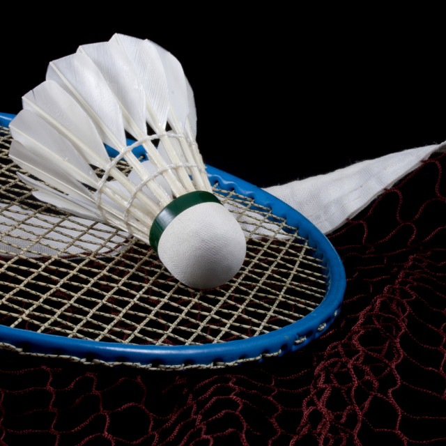 """Badminton"" stock image"