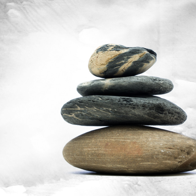"""Stone Stack"" stock image"
