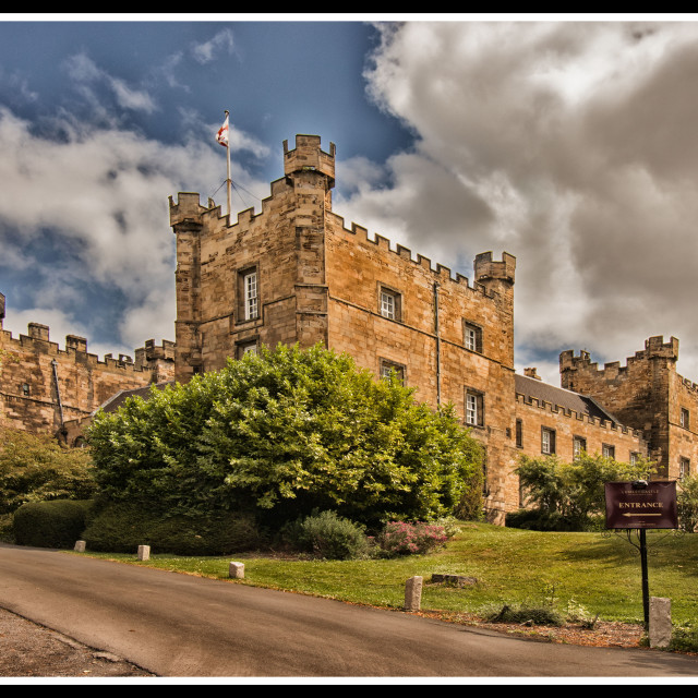 """Lumley Castle"" stock image"