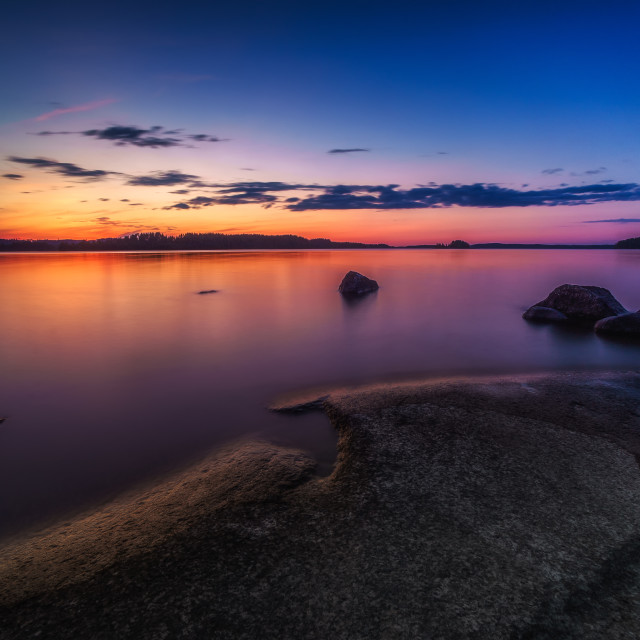 """""""After The Sunset"""" stock image"""