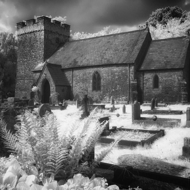 """Cilybebyll Church"" stock image"