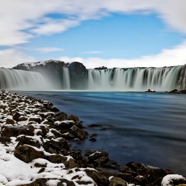 """""""Goðafoss"""" stock image"""