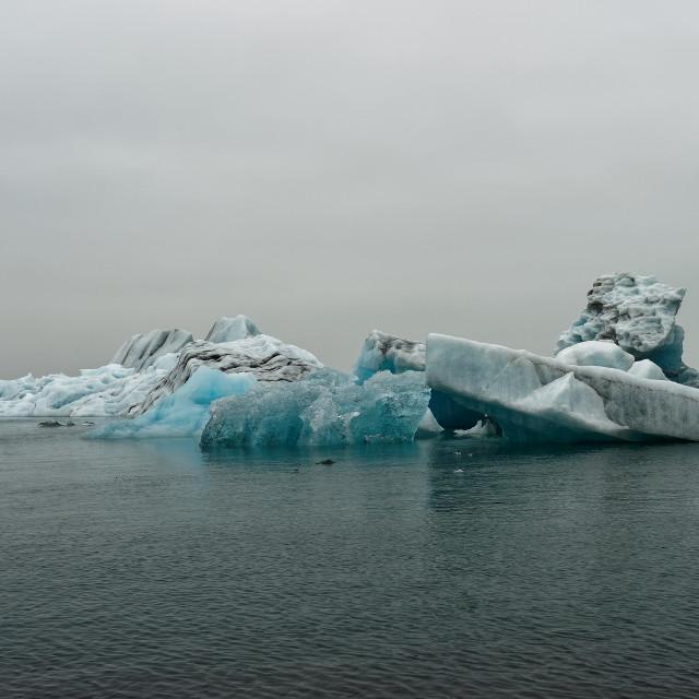 """""""Blue Iceberg"""" stock image"""