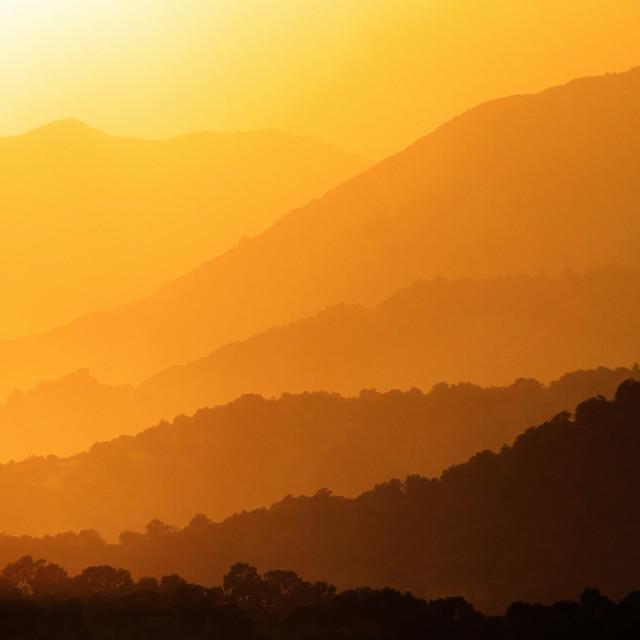 """Eastern sunset"" stock image"