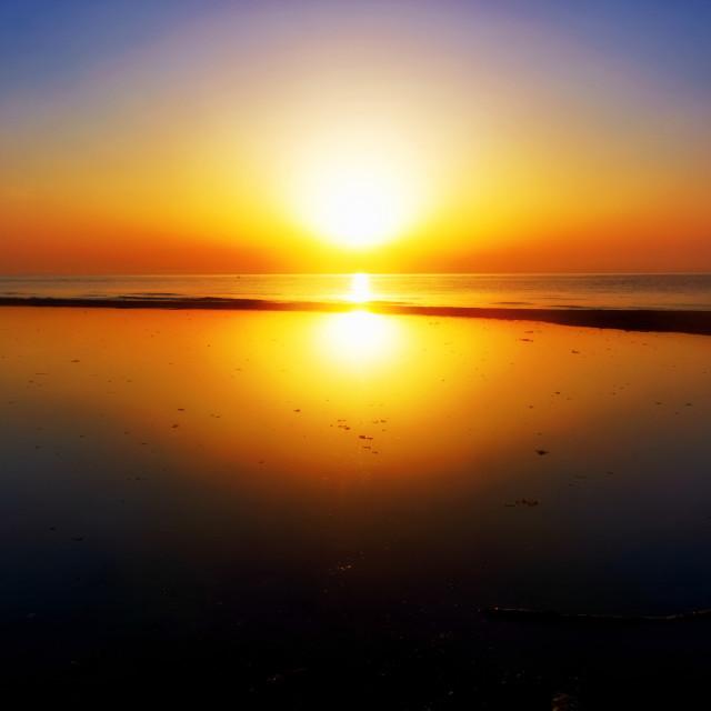 """Birth of the Sun"" stock image"