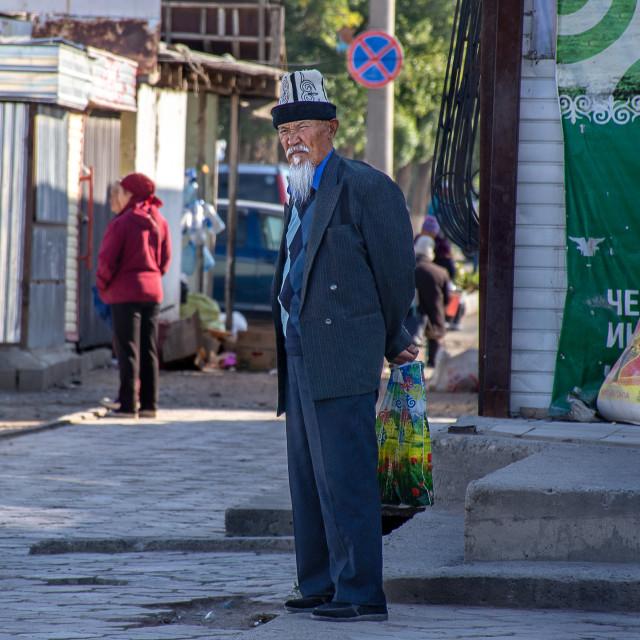 """""""Kyrgyz Man"""" stock image"""