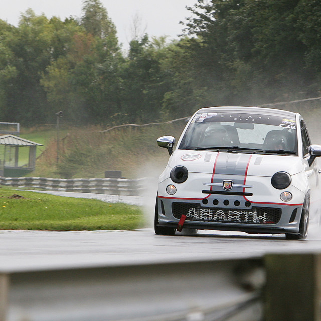 """Track day at Castle Combe"" stock image"