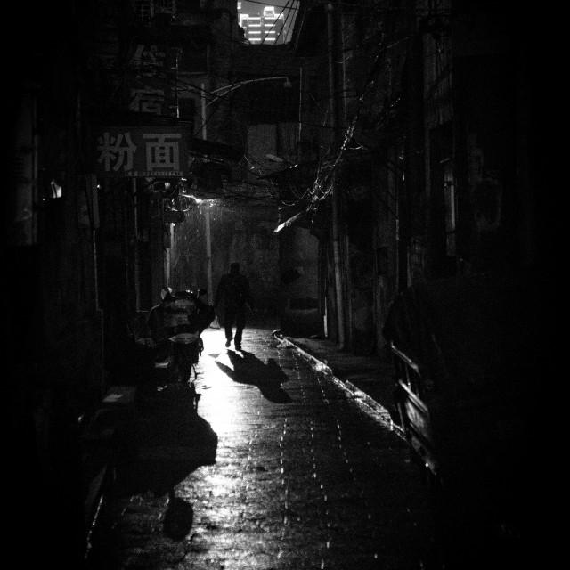 """""""Changsha Street"""" stock image"""