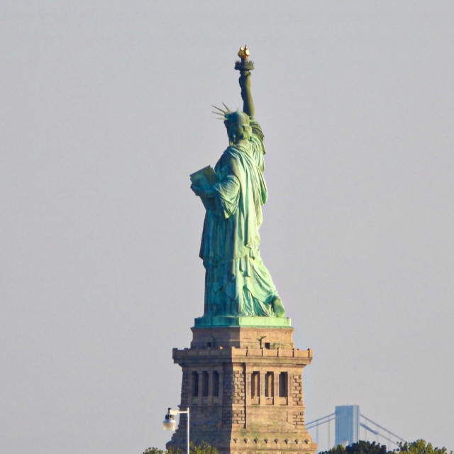 """Lady liberty"" stock image"