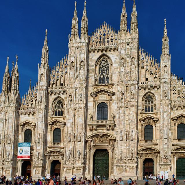 """""""Milan Duomo"""" stock image"""