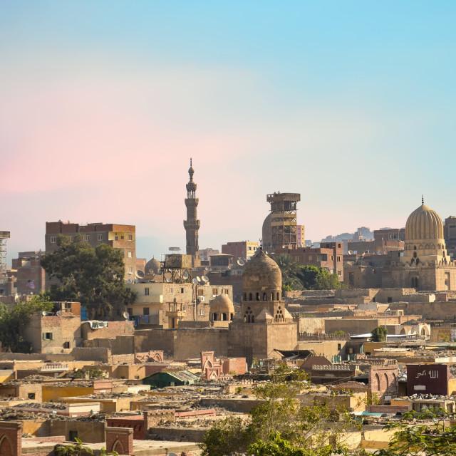 """Cityscape of Cairo, Egypt"" stock image"