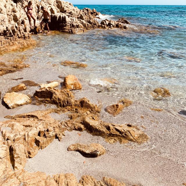 """""""Paradise (Sardinia)"""" stock image"""