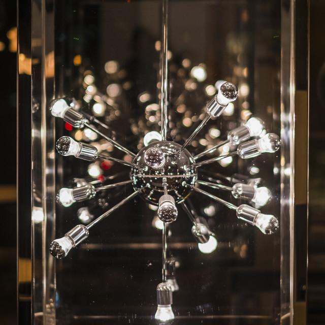 """Snowflake Lamp"" stock image"