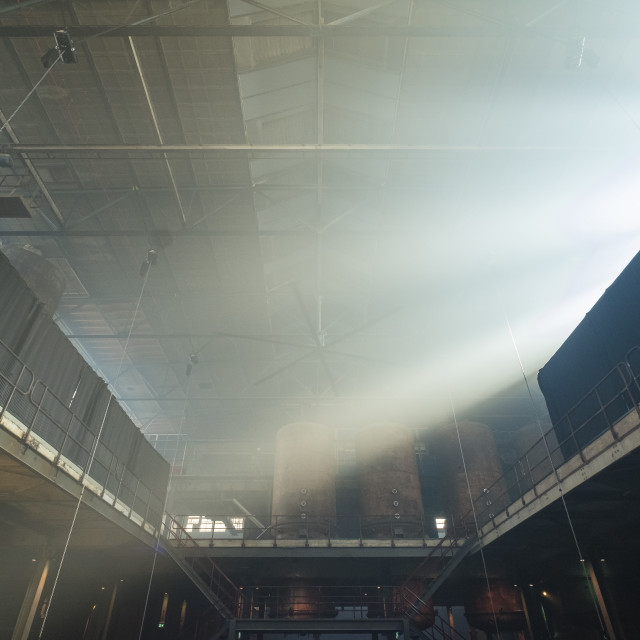 """""""Sunlight in Factory"""" stock image"""