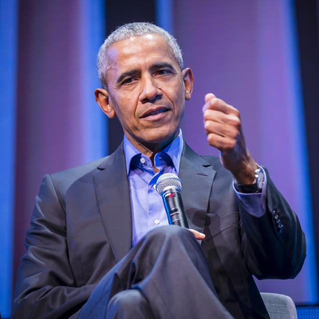 """""""Barak Obama"""" stock image"""