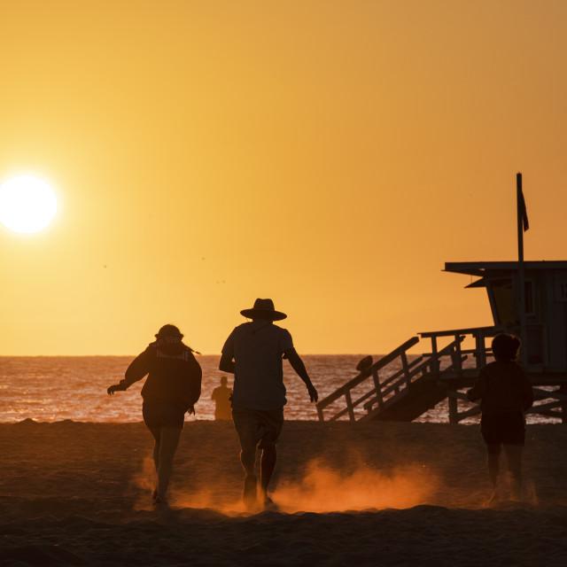 """Sunset dash"" stock image"