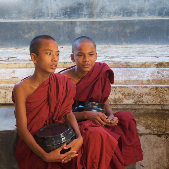 """Brothers in Alms"" stock image"