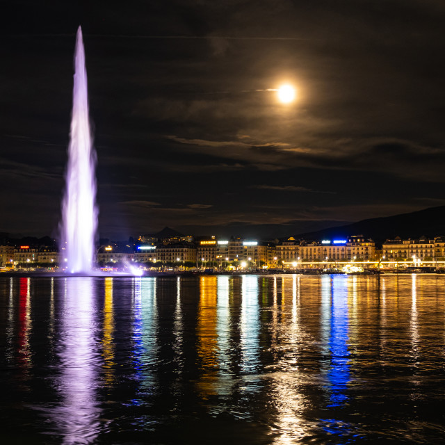 """Geneva, Switzerland"" stock image"