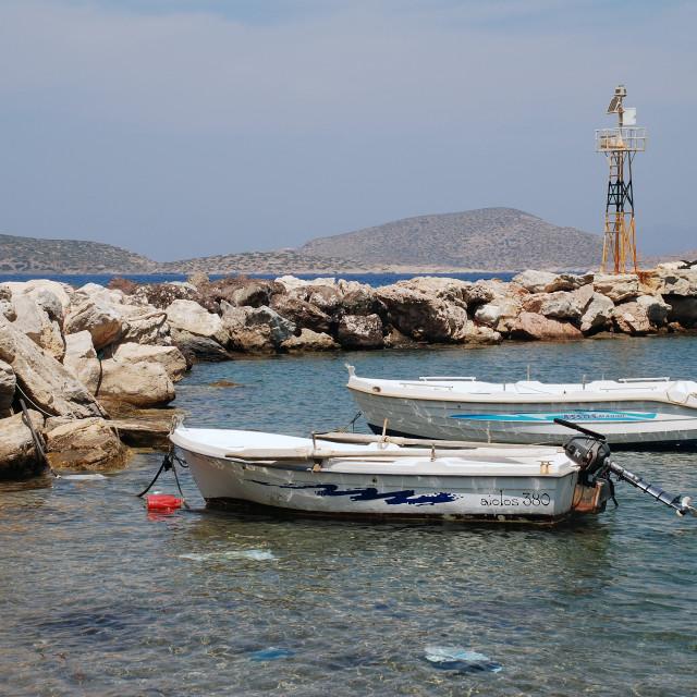 """Agios Antonios, Tilos"" stock image"