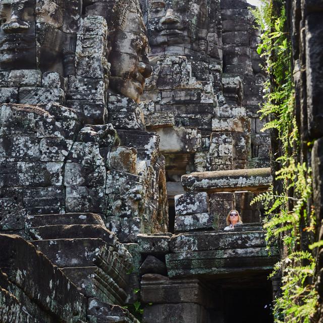 """Angkor Archeological Park, Cambodia"" stock image"